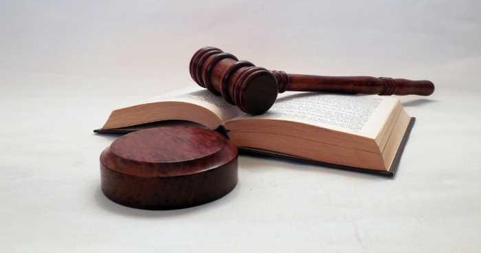 罰則を科すための司法判断をイメージさせる道具