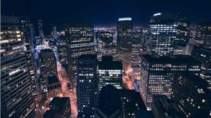 タワーマンションから見る夜景