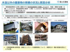 国土交通省住宅局発表の熊本地震被害報告書