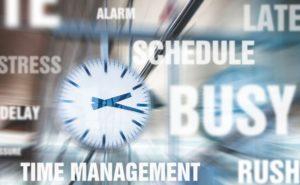 マンション管理会社がリプレイスに関し抱える悩みのイメージ(大変 時間が無い ストレス)