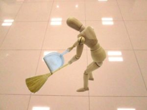 管理員 清掃 イメージ