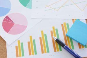 マンション管理組合の理事会の開催頻度のグラフデータのイメージ