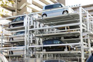 機械式駐車場のイメージ写真